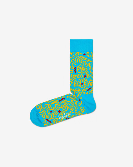 Happy Socks Keith Haring All Over Čarape